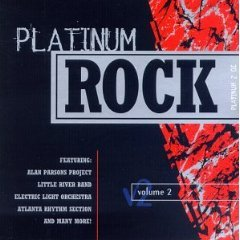 platinum rock volume 2 - various artists CD 1996 k-tel used mint