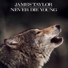james taylor - never die young CD 1988 CBS columbia used mint