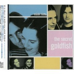 mink riot - the secret goldfish CD 1999 rock records 12 tracks japan used mint obi strip included