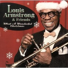 louis armstrong - what a wonderful christmas CD 1997 hip-o records used mint