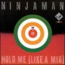 ninjaman - hold me (like a m16) CD 1995 riddim musicdisc made in france used mint