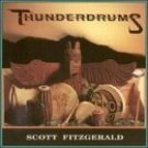 scott fitzgerald - thunderdrums CD 1990 world disc music used mint