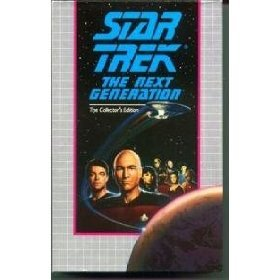 Star Trek the Next Generation Collectors Edition The Best of Both Worlds Parts I & II VHS mint