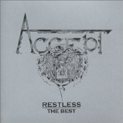 accept - restless the best CD 1982 brain metronome germany used mint
