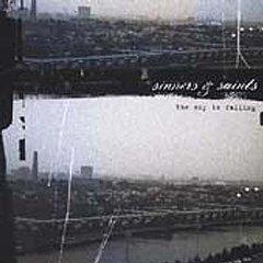 sinners & saints - the sky is falling CD 2001 bridge nine records used mint
