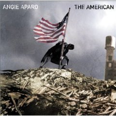 angie aparo - the american CD 2000 melisma arista used mint barcode punched