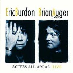 eric burdon brian auger - access all areas live CD 2-disc set 1993 spv germany mint