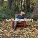 nick warren - back to mine CD 1998 DMC 13 tracks used mint