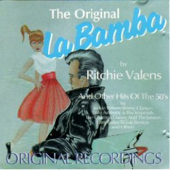 the original la bamba by ritchie valens and other hits of the 50's CD black tulip mint