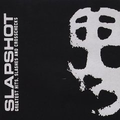 slapshot greatest hits slashes and crosschecks CD 2002 bridge nine used mint
