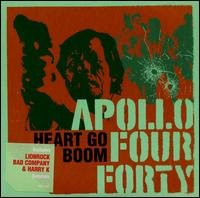 apollo four forty - heart go boom CD single 1999 sony 4 tracks used mint