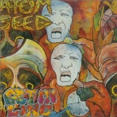 atom seed - get in line CD 1990 heavy metal polygram used mint barcode punched