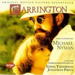 carrington - original motion picture soundtrack CD 1987 polydor 1995 decca used mint