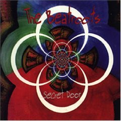 the beatroots - secret door CD 1998 hugh records used mint limited marker writing on front insert