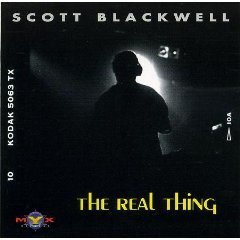 scott blackwell - the real thing CD 1994 myx BMG direct used mint