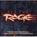 all the rage - the expanded soundtrack ... from primal rage the arcade game CD 1995 mint