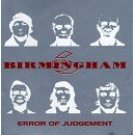 birmingham 6 - error of judgement CD 1996 cleopatra used mint
