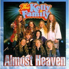 the kelly family - almost heaven CD 1996 kel-life kelly family gbr 14 tracks used mint
