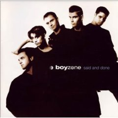 boyzone - said and done CD 1995 polygram ireland used mint