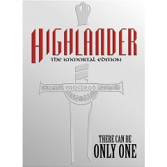 highlander the immortal edition DVD 2-disc set in metal case 2002 anchor bay used mint