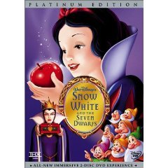 Snow White and the Seven Dwarfs - 2-disc Disney Special Platinum Edition DVD 2001 used mint