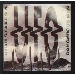 UFO - high stakes & dangerous men CD 1992 razor 2000 castle UK used mint