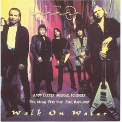 UFO - walk on water CD 1998 CMC international used mint