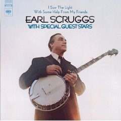 earl scruggs - i saw the light CD 2005 sony BMG Direct used mint