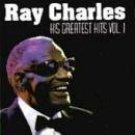 ray charles - his greatest hits vol.1 CD 1987 dunhill compact classics 20 tracks mint