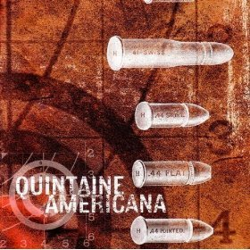quintaine americana - sharpshooter blues CD 2004 traktor7 used mint