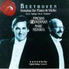 Beethoven - Sonatas for Piano and Violin - pinchas zukerman and marc neikrug CD 1992 RCA mint