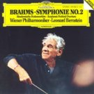 brahms symphonie no.2 & Academic Festival Overture - vienna philharmonic & bernstein CD 1983 DG mint