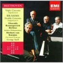 Beethoven: Triple Concerto and Brahms Double Concerto - rostropovich karajan CD 1993 EMI BMG Dir.
