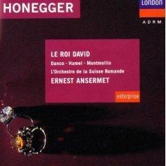 honegger - le roi david - ernest ansermet CD 1990 decca BMG Direct used mint