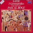 satie 3 gymnopedies & other piano works - pascal roge piano CD 1984 decca mint