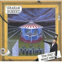 graham bonnet - the day i went mad CD 2000 GRBCD-2001 used mint