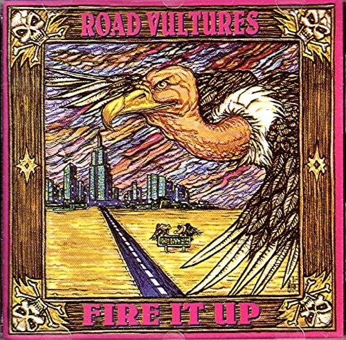road vultures - fire up CD 1993 circumstantial 10 tracks used mint