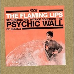 flaming lips - spongebob and patrick confront the psychic wall of energy CD single new