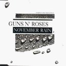 guns n roses - november rain CD single 1991 geffen 3 tracks used mint