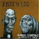 abscess - seminal vampires and maggot men CD 1996 relapse records used mint barcode punched