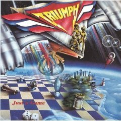 triumph - just a game CD 1979 1990 MCA used mint