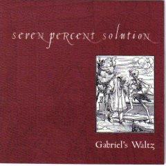 seven percent solution - gabriel's waltz CD 1999 x-ray used mint