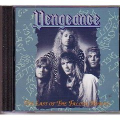 vengeance - the last of the fallen heroes CD 1994 brunette alfa toshiba-EMI japan used mint