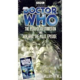 doctor who the edge of destruction and the pilot episode VHS 2000 BBC 2-tapes mint