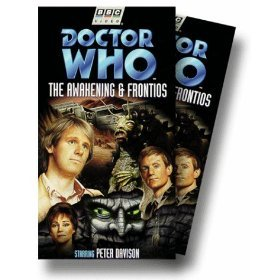 doctor who the awakening & frontios VHS 1998 BBC 2-tapes used mint