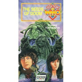 doctor who - the seeds of doom VHS 1995 BBC CBS FOX used mint