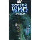 doctor who - E-space trilogy VHS 1997 BBC CBS FOX 3-tapes used mint