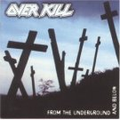 over kill - from the underground and below CD 1997 CMC international BMG used