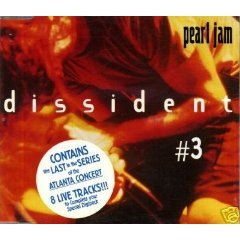 pearl jam - dissident #3 CD ep 1994 epic sony 8 tracks used mint