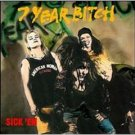 7 year bitch - sick 'em CD 1992 C/Z records used very good